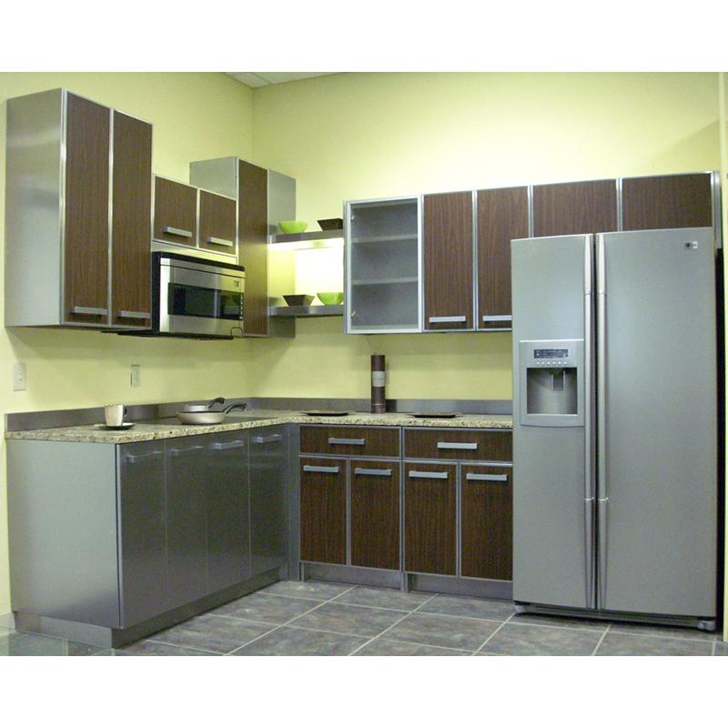Stainless Steel Bar Counter Outdoor Kitchen/restaurant/hotel  Equipment,Aluminium Kitchen Cabinet Design - Buy Aluminium Kitchen Cabinet  ...