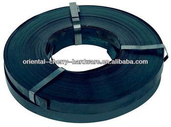 Suppy Black Steel Metal Straps/metal Packing Strap