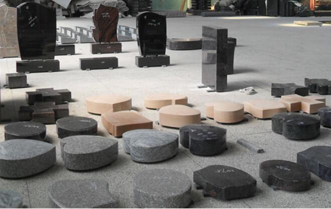סין קברות גרניט פרח אגרטלים עבור מצבות