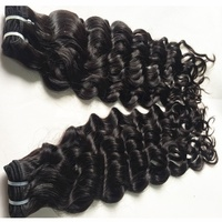 Wholesale cuticle aligned 20 inch remy curly deep virgin Brazilian indian body wave Extension Bundle human hair