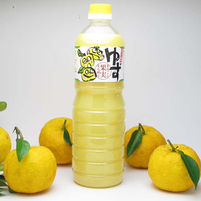 Japanese 100% pure Yuzu concentration good taste fruit juice