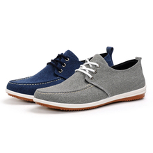 Cheap comfortable breathable casual canvas shoes cloth shoes men