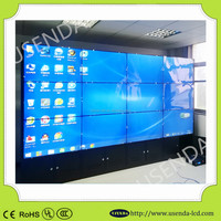 "Chear price 9pcs*55"" 8mm seamless super narrow bezel video wall display with Original Samsung/LG panel"
