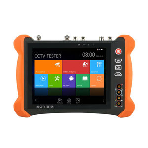 "8"" 2K retina touch screen HD CCTV Tester Pro Anti-sunlight Cover HDMI I/O Analog 4K/H.265/H.264 IP Camera Tester DIY X9 series"