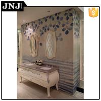 Beautiful Bathroom Design Ceramic Tiles Mosaic Flowers Price