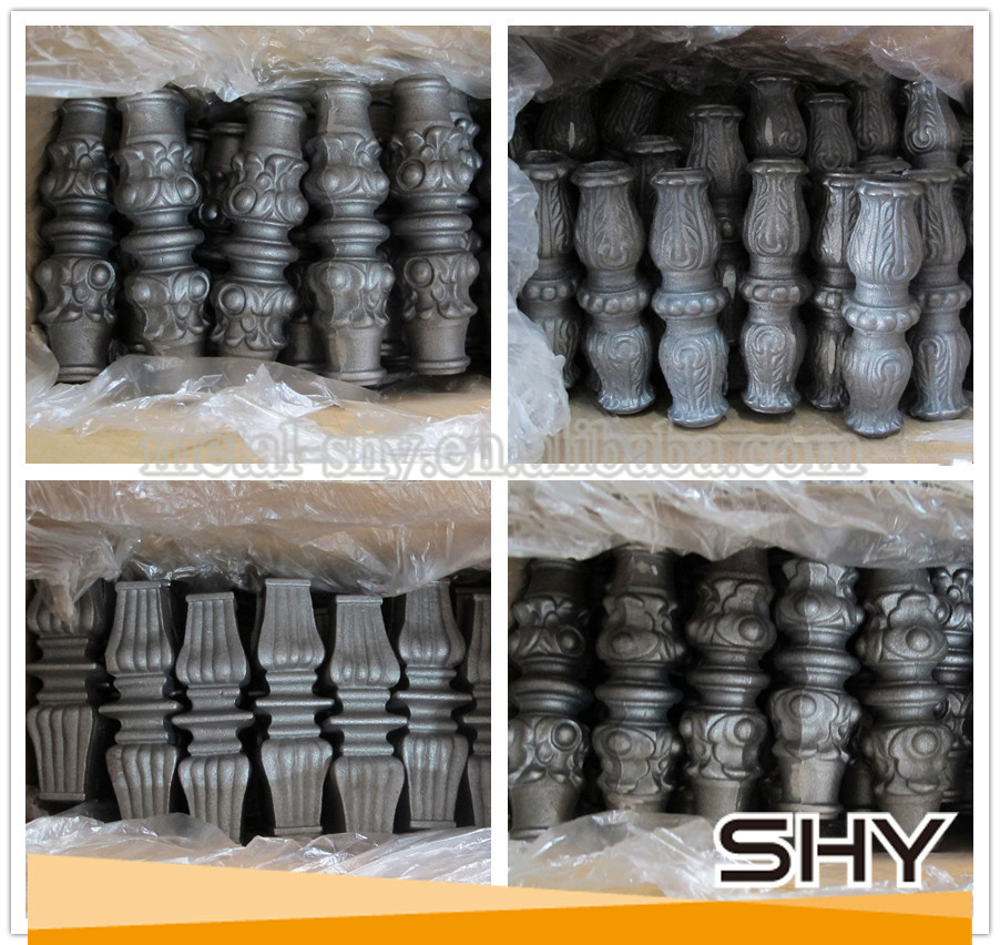 Ornamental wrought iron fence parts buy