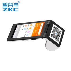 ZKC900 full feature pos hardware with 3g wifi nfc/rfid,camera and built-in printer