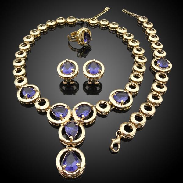 Dubai 18 Carat Gold Jewelry Sets Wholesale Jewelry Set Suppliers