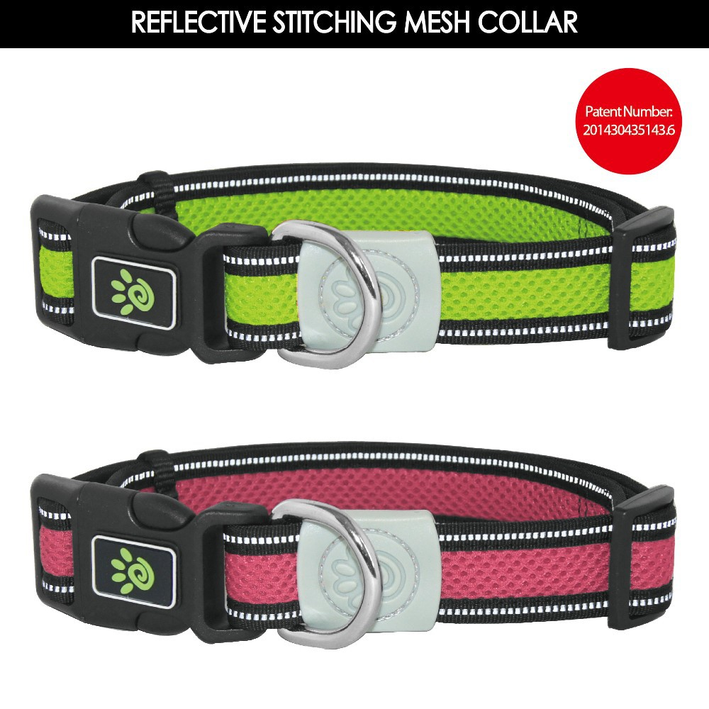 Air Mesh Collar with pattern,nylon leashes,leads,harness