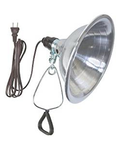 Woods 0151 18/2 SPT-2 Clamp Lamp Light w/ 8.5-Inch Reflector, 150-Watt, 6-Foot -MP#GH4498 349Y49HBRG9140190