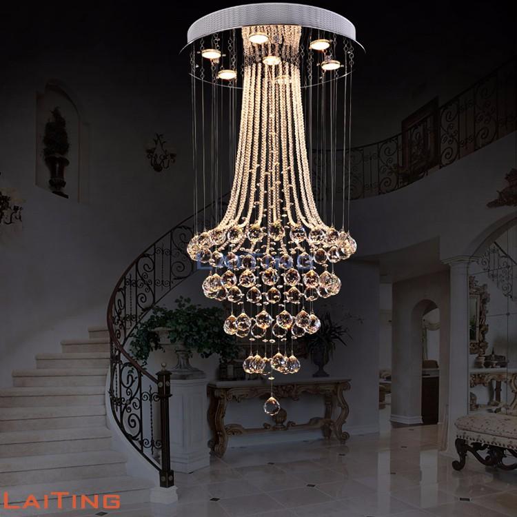 L mparas de ara a de cristal de techo luz colgante para vivir la habitaci n 92040 l mparas y - Lamparas de arana de cristal ...