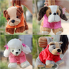 HI CE side bag for girl/ plush stuffed toy dog bag