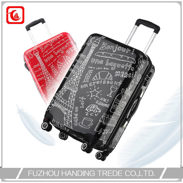 f24f65c7 Stock Backpack Bag And Luggage , Suitcase With Pattern Spinner Wheel