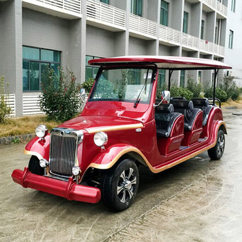 Six seat electric sightseeing car/electric tourist car cheap price/china suppliers classic car
