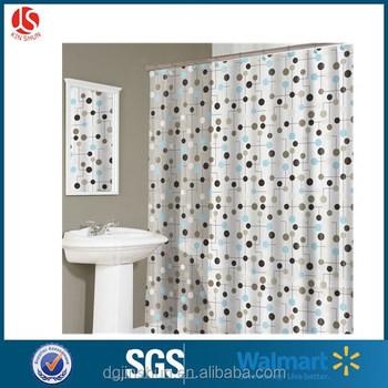 Heavy Duty 100 PEVA Transparent Bath Curtain Waterproof Mildew Free Shower Factory Wholesale