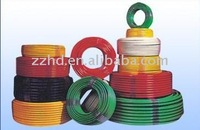 300/500V 450/750V pvc insulated wires copper conductor electric cable and wires