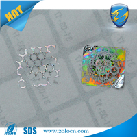 anti-fake hologram labels 3D/ label sticker