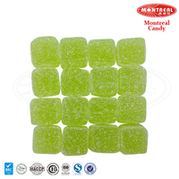 Sweet drop gummy green apple candy