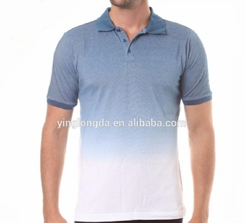 8d745c9f759 china double mercerized 100 cotton polyester custom design printed Top  quality antique branded polo shirt for