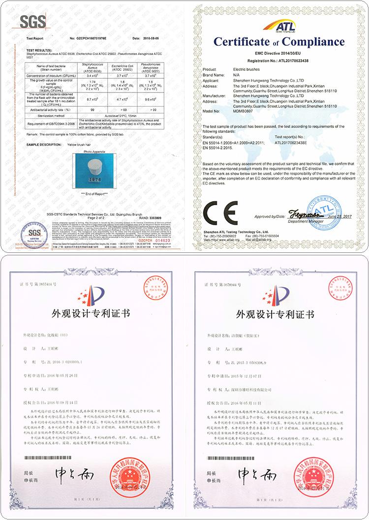 certificates & patent
