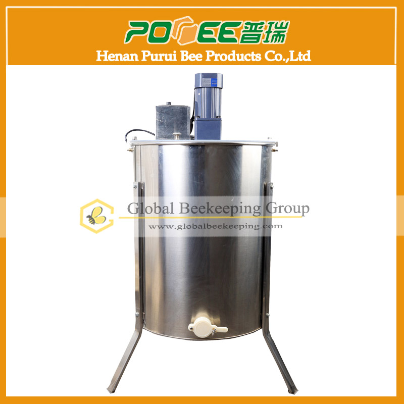 Radial automatic honey extractors 4 frames electric bee extractors for beekeeping