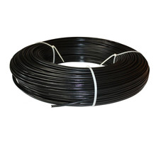 Chinese Dingzhou Manufacturer Rigid Green PVC Coated Iron Wire with 25kg/coil