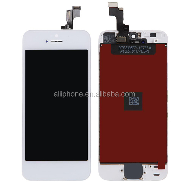 Fábrica OEM procude display LCD tela substituir para iphone Telefone Móvel lcd tela de toque digitador assembléia para iphone 5S