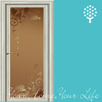Aluminum Half Glass Door Design Buy Aluminum Half Glass Door