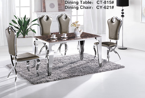 Faux Marble Dining Table South Africa CT815