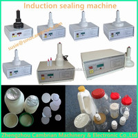 Handheld manual glass bottle sealer sealing machine for aluminum foil bottle