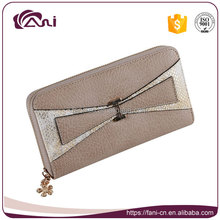 2017 Ladies PU leather zipper wallet and purses/Fashion trends women wallets/New model ladies purses