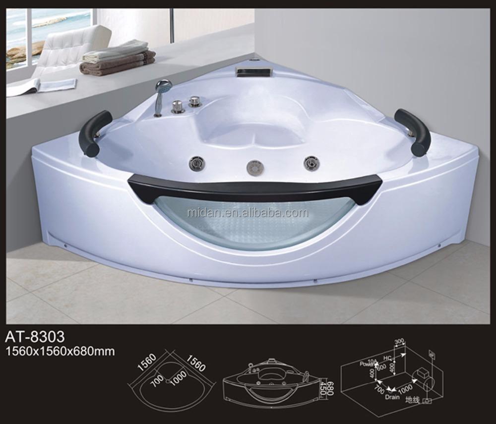 Clear Bathtub. Simple Semiframed Sliding Trackless Tub And Shower ...