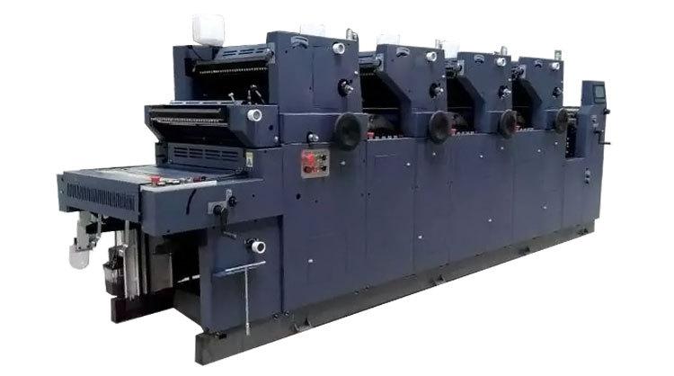 Digital Offset Printing Press Zr462iinp Four 4 Colour Offset ...