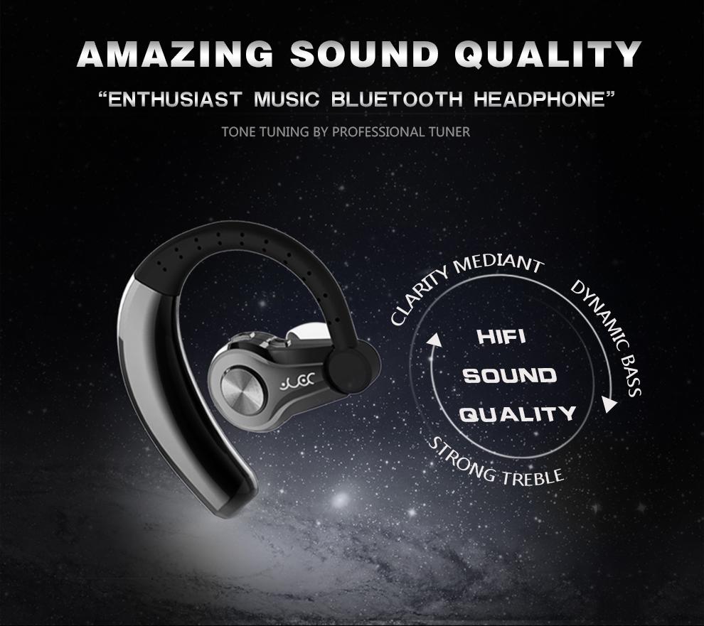 CVC 6.0 noise isolation technology wireless earphone intelligently filter wind or background noises