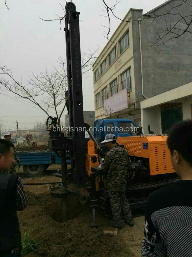 Kw180 Low Cost Durable Deep Well Drilling Equipment / Portable ...