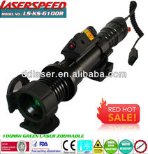 night vision tactical green laser flashlight scope