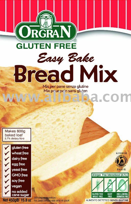 Gluten Free Bread Mix - Buy Bread Product on Alibaba com