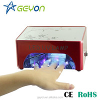 Shenzhen geyon art nail factory wholesale 35w uv ccfl led lamp nail art accessory uv led oven line