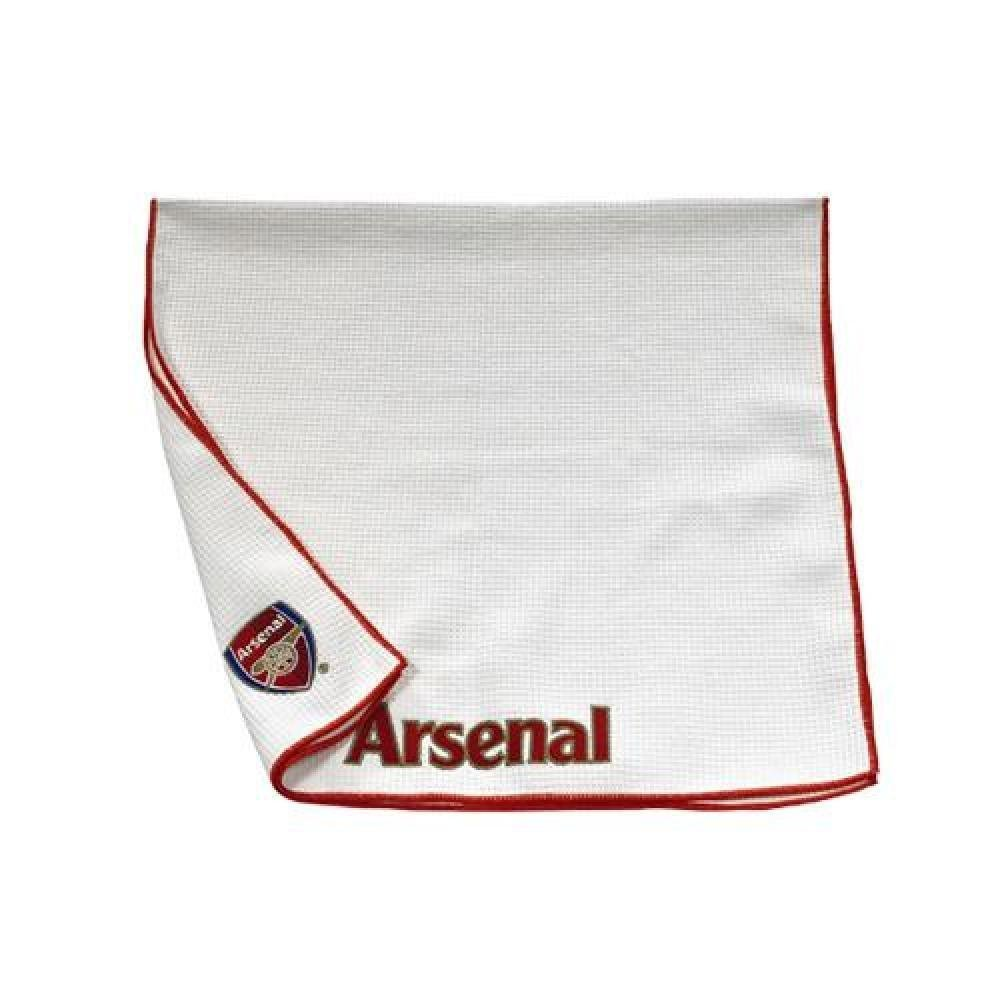 Football Gifts - Arsenal Fc Gift Ideas - Official Arsenal Fc Aqualock Caddy Towel - A Great Present For Football Fans