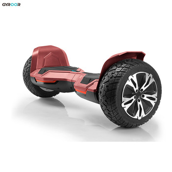 "Gyroor 8.5"" off road warrior smart hoverboard two wheel electric self balancing scooter with cheap price"