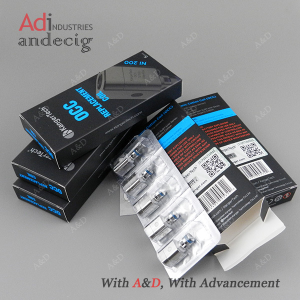 A&d Offer Genuine Kanger 0.15ohm Organic Cotton Subtank Occ Ni200 ...
