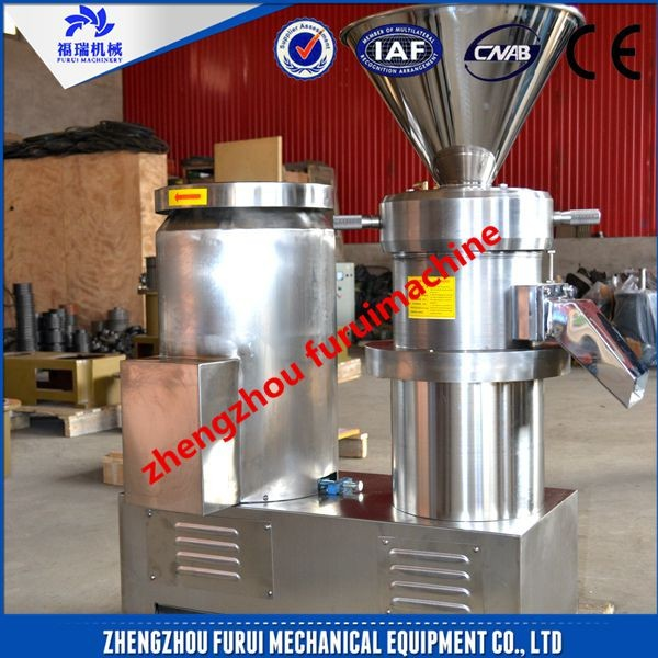 New design cocoa bean grinding machine for coco bean processing plant