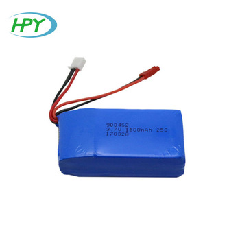 HPY 903462 li-ion battery 3.7v 1500mah rc helicopter battery