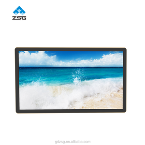 1080p android advertising display 55 inch dual lcd screen kiosk 4k Stretched Bar LCD Display Digital Signage with WIFI