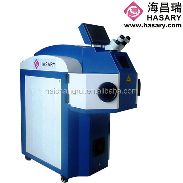 high stability automatic laser jewerly welding machine with PC control