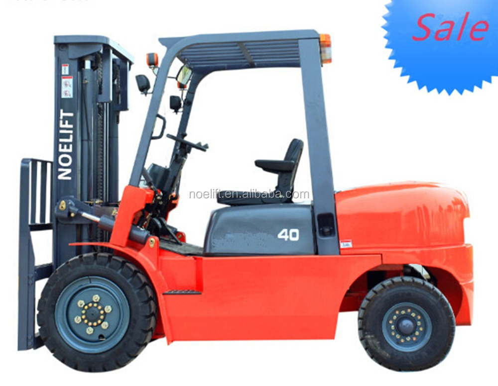 China Noelift brand 4tons forklift equipment