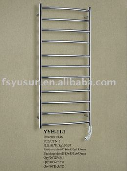 wall mounted curved style heated towel rack ladder towel rack
