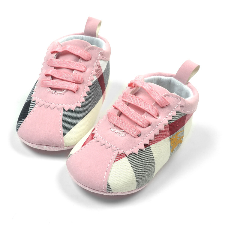 best cheap 9bedc e5b2b baby jordan shoes bape shoes baby boy and girls loafers baby Cloth shoes  pink  brown