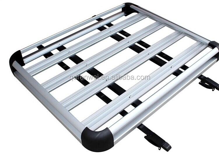 en aluminium de voiture toit rack croix bar porte bagages toit bars barres de toit d 39 auto id de. Black Bedroom Furniture Sets. Home Design Ideas