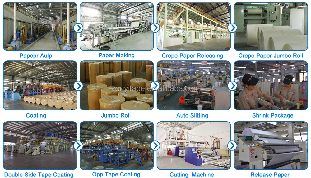 Bopp Packing Adhesive Tape Jumbo Roll for Carton Sealing